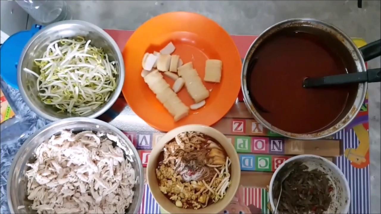 Resepi Ringkas Laksa Sarawak