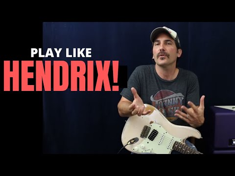 Play Rhythm Like Hendrix in 15 Minutes - Guitar Lesson - Tips And Tricks To Sound Like Jimi