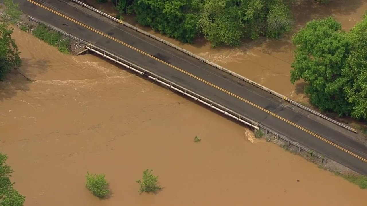 Tennessee sumner county portland - Sky 5 Aerials Of Flooding In Sumner County