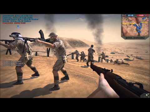 Second Battle of El Alamein - Forgotten Hope 2 (128 man battle)
