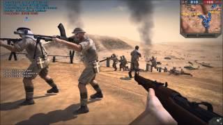 Second Battle of El Alamein - Forgotten Hope 2 (128 man battle)