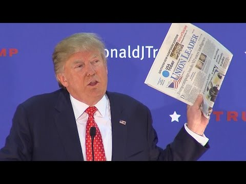 Donald Trump Sets Record: 0 Major Newspaper Endorsements
