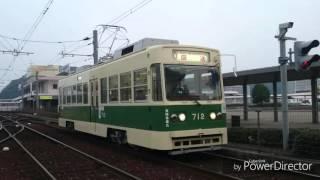 【走行音】広島電鉄700形712号 宇品三丁目〜宇品四丁目