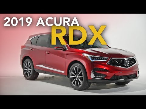 2019 Acura RDX First Look - 2018 Detroit Auto Show