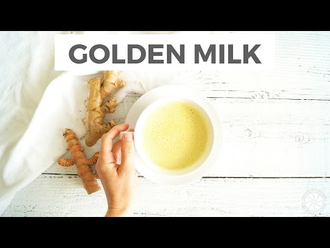 How To Make Golden Milk + Health Benefits Of Turmeric | Healthy Grocery Girl