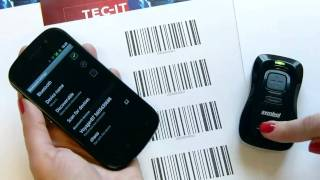 Using Bluetooth Barcode Scanner Motorola Symbol CS3070 with Android