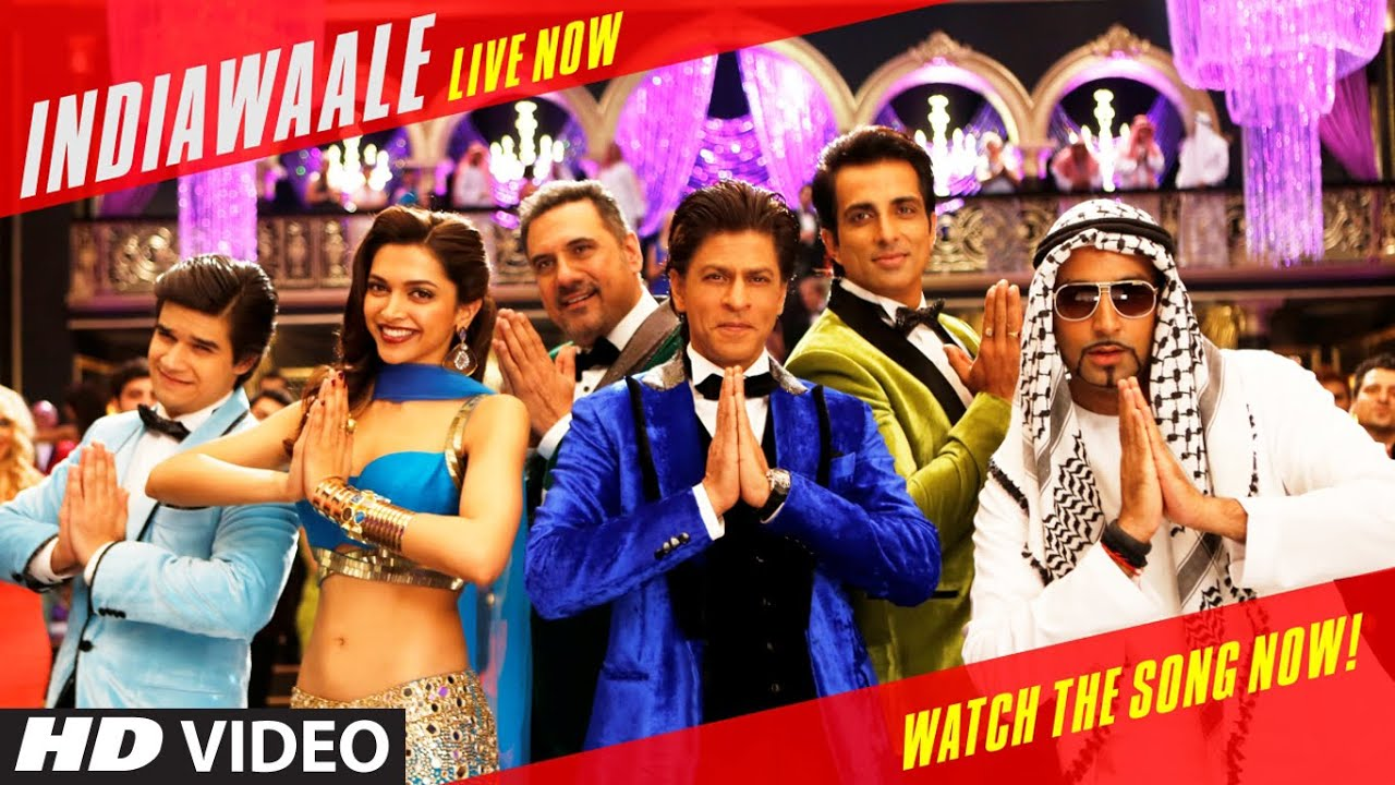 official india waale video song happy new year shah rukh khan deepika padukone youtube