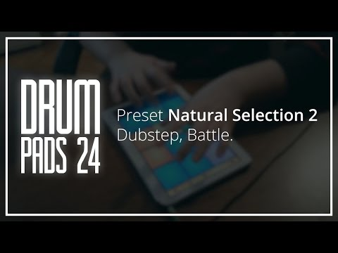 Drum Pads 24.Preset Natural Selection 2:Dubstep.