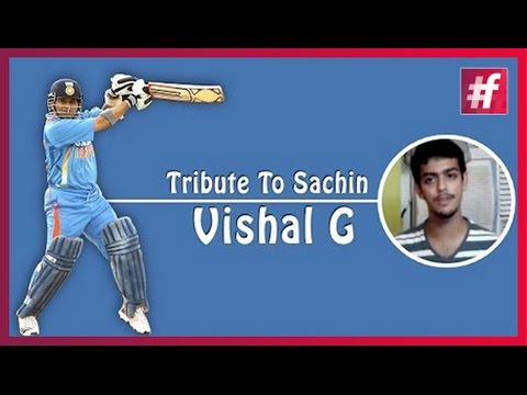 #fame cricket - Tribute to Sachin Tendulkar  - Vishal G thumbnail