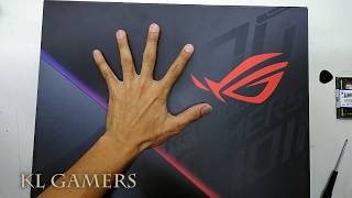 ASUS ROG Gaming Notebook Model G531G TAL236T upgrade DDR4 RAM Unbox 2020