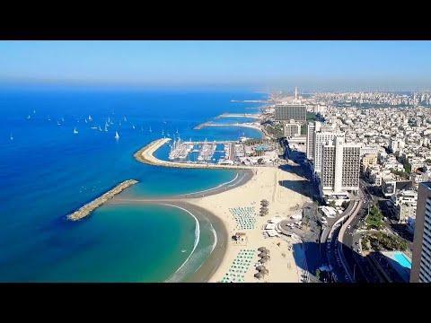 TEL-AVIV (Israel) - The Best DRONE Video. MUST SEE!
