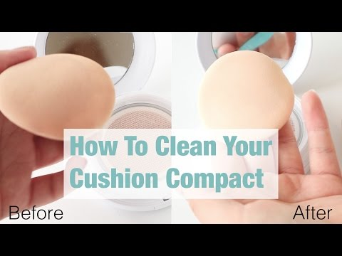 How To Clean Your Cushion Compact In A Cheap, Easy & Effective Way ft. Klairs Mochi BB Cushion