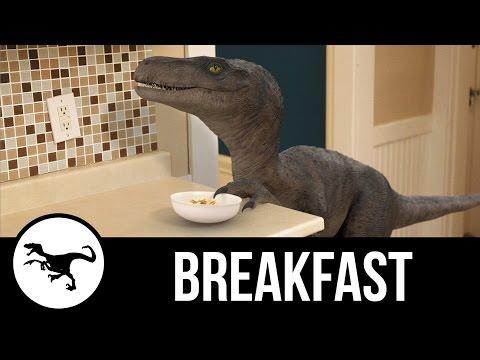 funny-video-breakfast-dinosaur-break-dish