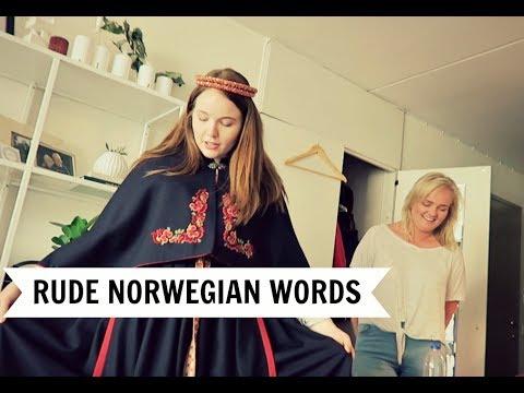 NORWEGIAN WORDS THAT SOUND RUDE IN ENGLISH!