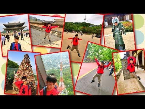 Gyeongbokgung Palace, Namsangol Hanok Village, Namsan Seoul Tower - VLOG Korea trip day 3