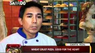 24oras: Wheat Crust Pizza, Good   For The Heart
