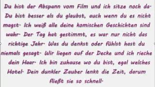Prinz Pi - Du bist [Lyrics]