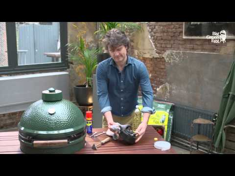 Big Green Egg Instructions - Cleaning and maintenance