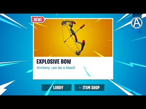"NEW ""EXPLOSIVE BOW"" Gameplay! // 2000+ Wins // Use Code: byArteer (Fortnite Battle Royale LIVE) thumbnail"
