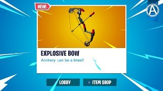 "NEW ""EXPLOSIVE BOW"" Gameplay! // 2000+ Wins // Use Code: byArteer (Fortnite Battle Royale LIVE)"