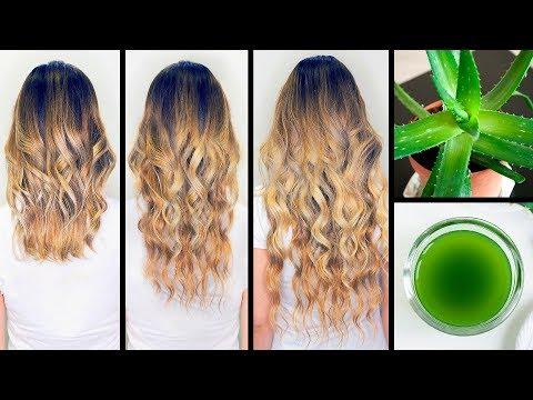 J'ai Fait de L'huile D'alove Vera, et Mes Cheveux Poussent Deux Fois Plus Vite