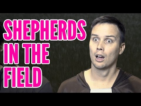 """Kid Snippets: """"Shepherds in the Field"""" (Imagined by Kids)"""