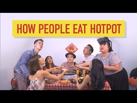 How People Eat Hotpot