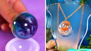 18 Stylish Homemade Jewelry Crafts Using Resin