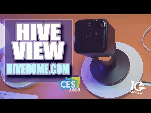 The Hive View Indoor Camera For Your Smart Home