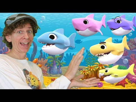 Baby Shark Learn And Sing with Matt | Kids Animal Songs | Learn Numbers, Family