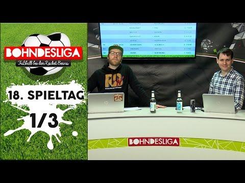 [1/3] 18 Spieltag der Bundesliga in der Analyse | Bohndesliga-Fußball bei Rocket Beans | 30.01.2017