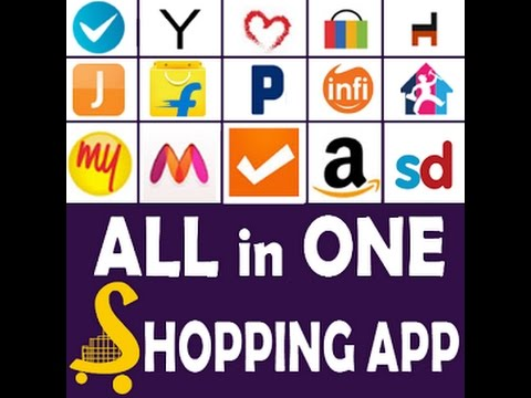 How to use all shopping websites in only one app Best apps for you one trick that can use