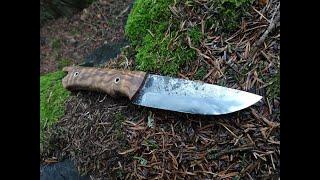 Nůž z výstavy Jaromír Kotěra Huberto