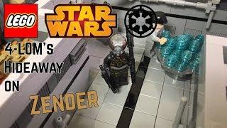 4-LOM's Hideaway On Zender | LEGO Star Wars Mini MOC #68