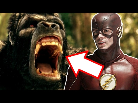 The Flash vs Gorilla Grodd in Gorilla City! - The Flash Season 3