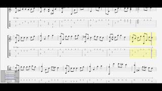 Như ngày hôm qua ( Sơn Tùng - MTP) (G) guitar solo tab by D U Y
