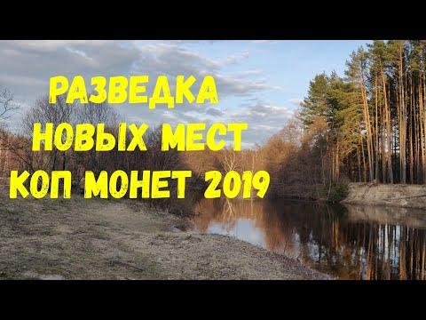 Коп в Нижегородской области (разведка)  Vol.2. Коп монет 2019