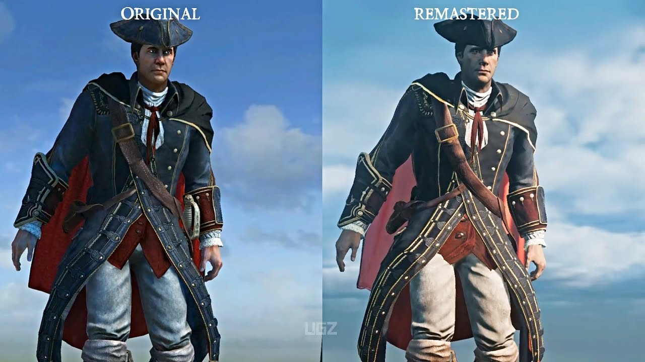 Assassin S Creed 3 Remastered Vs Original Side By Side Graphics Comparison Youtube