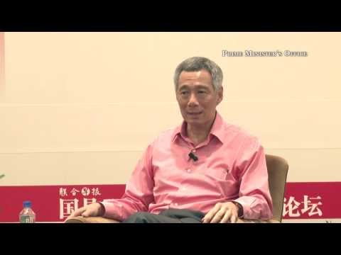 On the role of the media in Singapore: PM Lee (captioned in English)