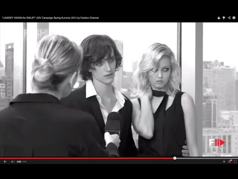 """""""LINDSEY WIXON for SISLEY"""" ADV Campaign Spring Summer 2014 by Fashion Channel"""