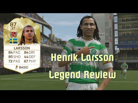 FIFA 16 - Henrik Larsson - Legend Review