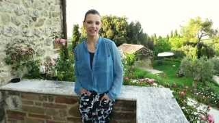 Crazy Print Topshop Joggers Outfit in Tuscany!
