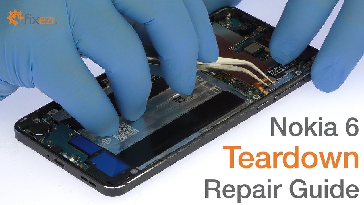 Nokia 6 Teardown Repair Guide - Fixez com
