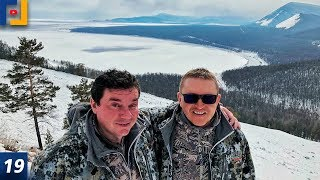 Зимний Байкал. Охота. Рыбалка. Снегоходы. [ГРАФИК.life]