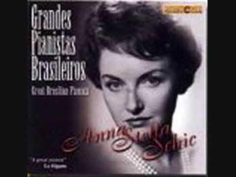 ANNA STELLA SCHIC plays VILLA-LOBOS Ondulando op.31 (Estudo) , 1977 Salle Gaveau