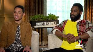 John David Washington represent two sides of the debate in MONSTERS AND MEN