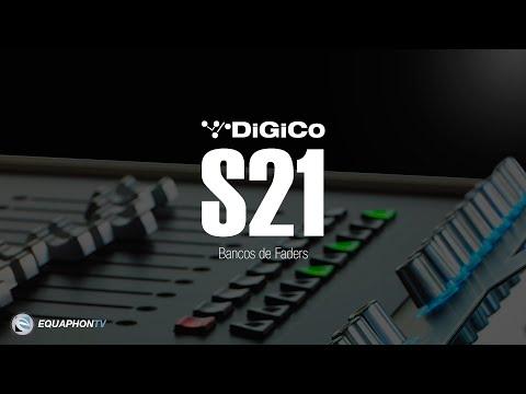 DiGiCo S21 - Bancos de Faders