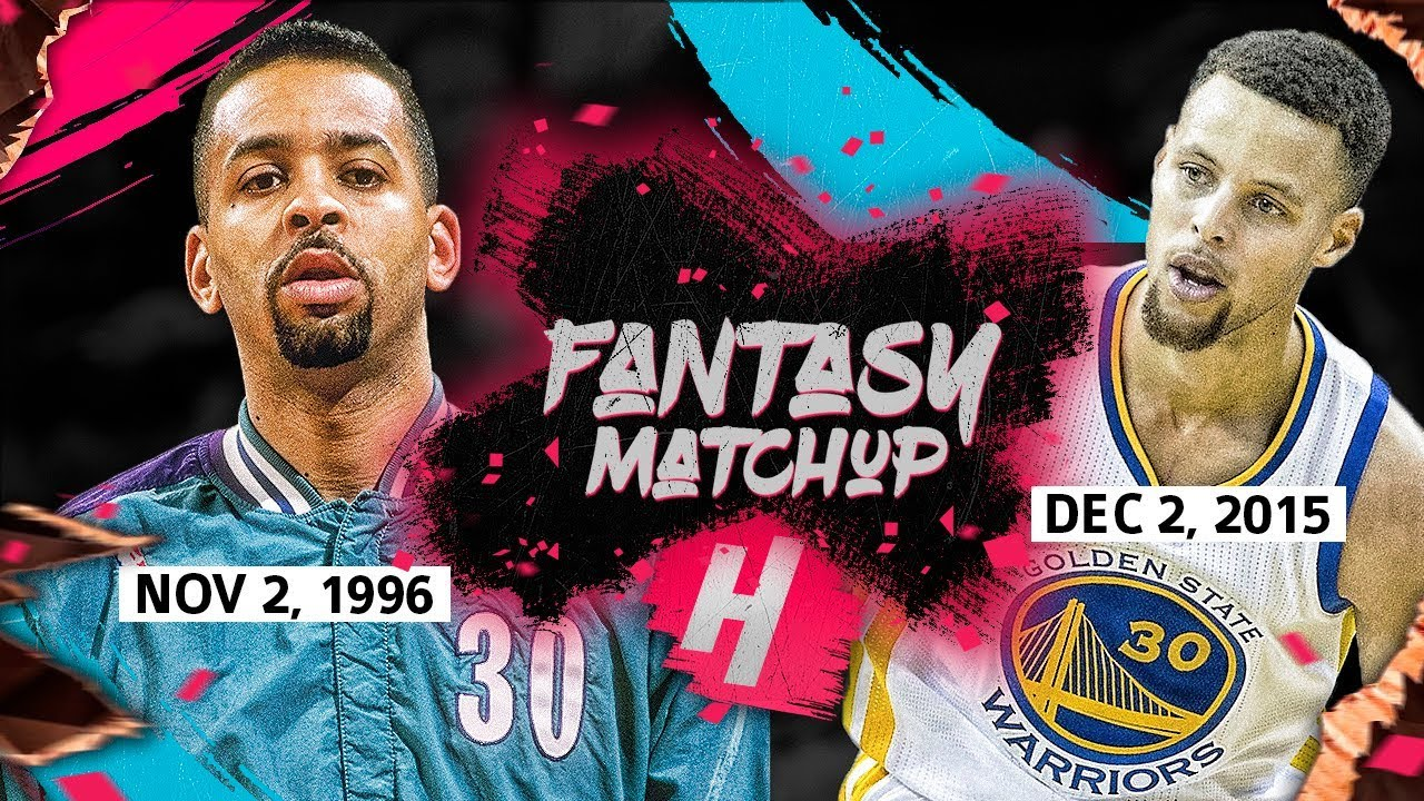 05c7f326a0c Fantasy Match-Up: Stephen Curry vs Dell Curry EPIC