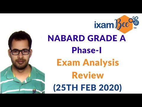 NABARD Grade A 2020 Phase 1 (25th Feb) : Exam Anaylsis | Review | Difficulty Level | Expected Cutoff