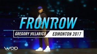 Gregory Villarico | FrontRow | World Of Dance Edmonton Qualifier 2017 | #WODEDM17